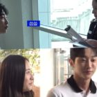 """Watch: Jinyoung And Krystal Radiate On Set Of """"Police University"""" With Their Fabulous Teamwork"""
