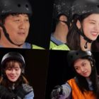 """Watch: ITZY's Yeji, WJSN's Luda, Jung Joon Ha, And BIBI Fight For The Right To Go Last In """"Running Man"""" Preview"""