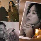 Jang Ki Yong And Song Hye Kyo Highlight The Process Of Loving In New Romance Drama Posters