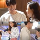 """Watch: Lee Sang Yoon And Honey Lee Can't Stop Teasing Each Other While Filming Romantic Moments In """"One The Woman"""""""