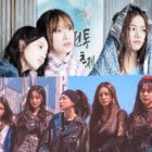 """EXID's Hani, WJSN's Exy, LABOUM's Solbin, And More Dish On Their Real-Life Teamwork As Girl Group Cotton Candy In """"IDOL: The Coup"""""""