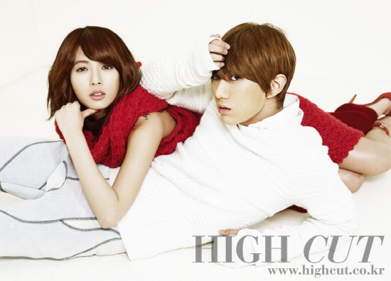 "Hyun Seung and HyunA Get Ready for Christmas with ""High Cut"""