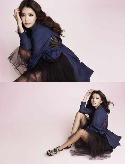 Chae Jung Ahn's Seductive Femme Fatale Photospread