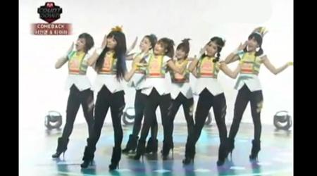 Mnet M! Countdown 12.09.10