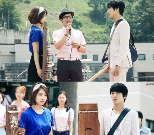 """""""Heartstrings"""" Jung Yong Hwa & Park Shin Hye's Music Battle: And the Winner Goes to…?"""