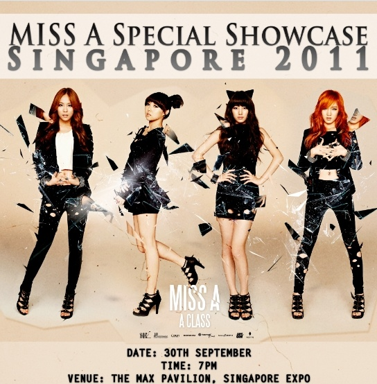miss A Heads to Singapore for a Special Showcase Performance