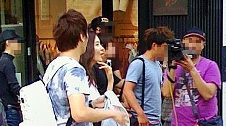 Sweet Potato Couple Spotted In Apgujung!