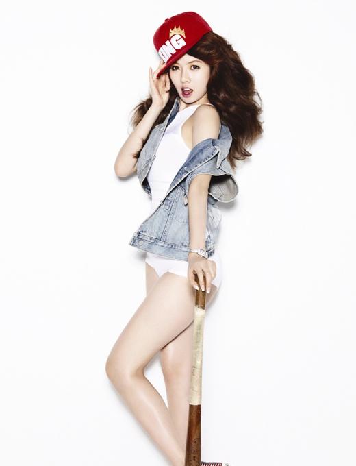 "HyunA's ""Bubble Pop"" Ranked Ninth on ""SPIN"" Magazine"