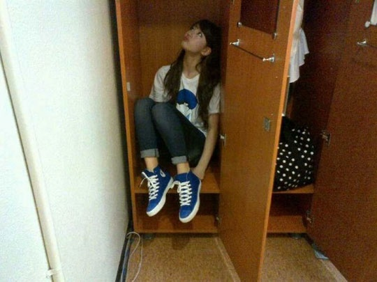 miss A Suzy Hiding in Her Closet?