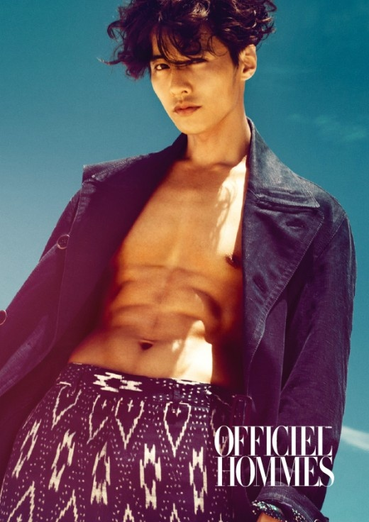 """Won Bin is the Cover Model of Famous French Magazine """"Officiel Homme"""""""