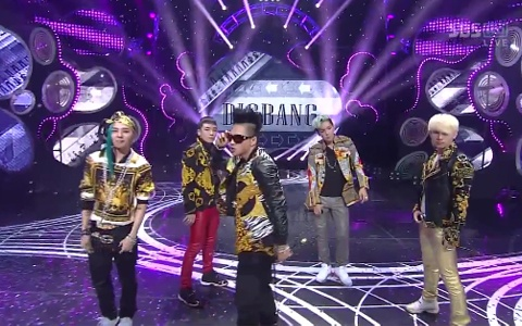 "Big Bang Performs ""Fantastic Baby"" and ""Bad Boy"" on Inkigayo"