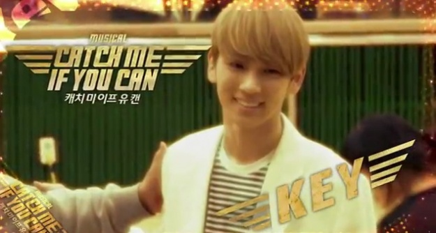 "SHINee's Key Releases BTS Rehearsal Video for Musical ""Catch Me If You Can"""