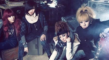 2NE1 Looking Fierce For Bean Pole