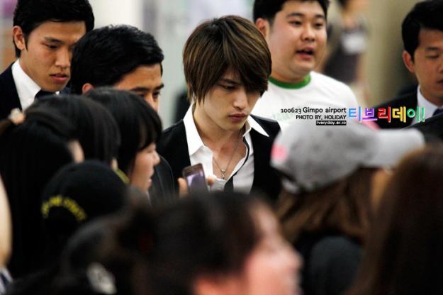 DBSK's Jaejoong Back in Korea