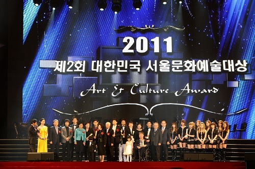 SNSD, Rain Win Seoul Cultural Arts Awards