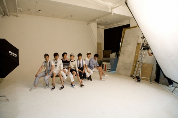 BTS Elle Photoshoot (U-Kiss)