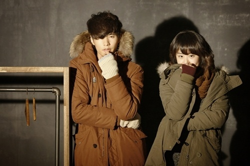 Moon Geun Young and Won Bin's Couple Winter Photo Shoot