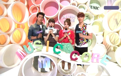 MBC Music Core 07.23.2011