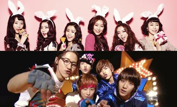 Police Steps in Against Hateful Rumors Between B1A4 and Dal Shabet Fans