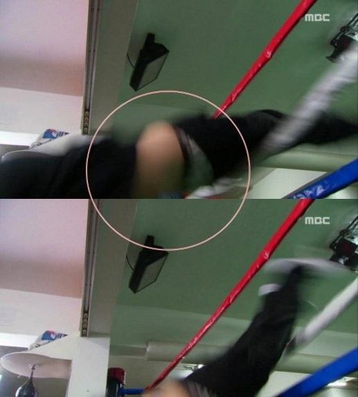"""Lee Jong Suk's Pants Slip Off on """"High Kick 3"""""""