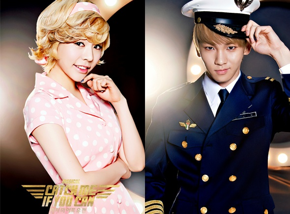 """[Exclusive Review] SHINee Key and Girl's Generation Sunny in """"Catch Me If You Can the Musical"""""""