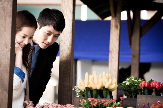 "Jung Woo Sung and Han Ji Min Go on a Date in ""Padam-Padam"""