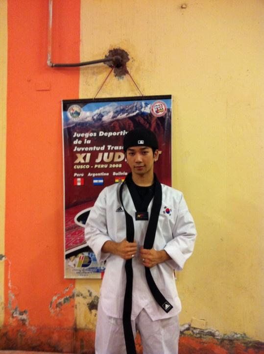 MBLAQ's G.O Looks Sharp in Taekwondo Uniform