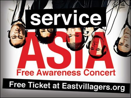 FREE Concert! ServiceAsia: Raising Awareness for Service in East Asia