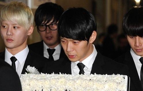 JYJ Park Yoo Chun's Father's Funeral