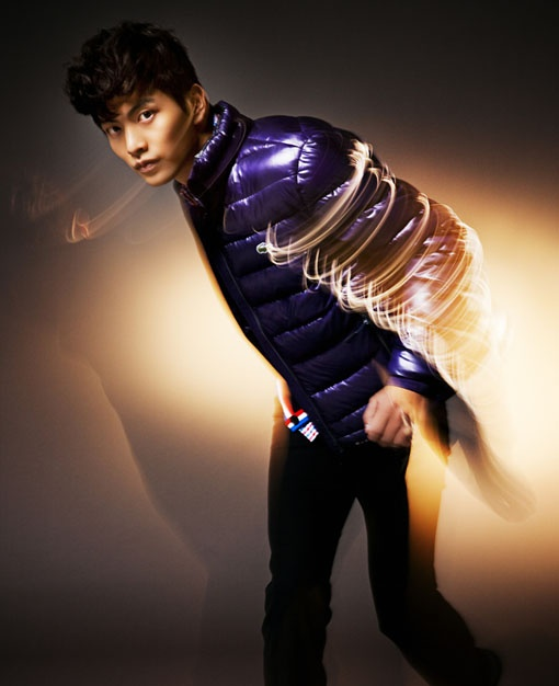 Lee Min Ki's Colorful and Energetic Photoshoot