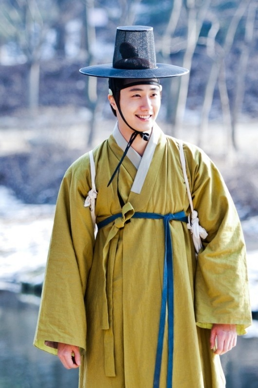 Jung Il Woo Dyed His Hair in the Chosun Dynasty?