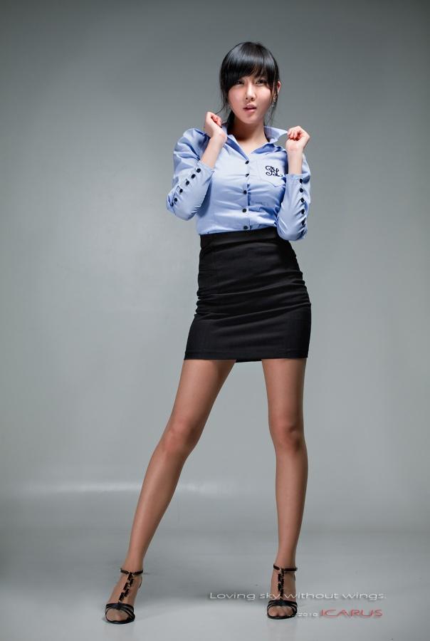 """Office Lady"" Photoshoot (Choi Byeol Yee)"