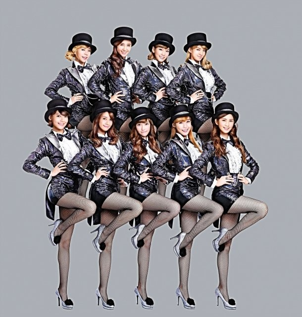 SNSD Appears on Major Display Board in Tokyo