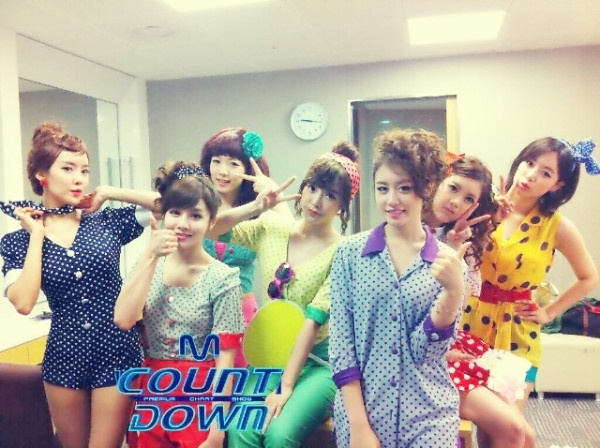 Mnet M! Countdown! 07.14.2011