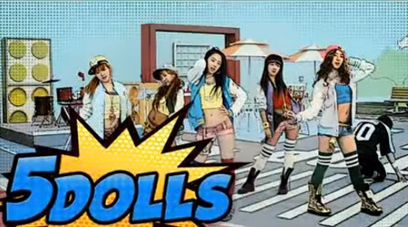 "5Dolls Releases MV For ""Like This Or That"""