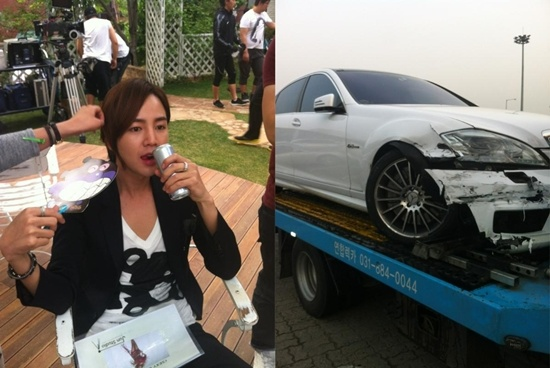 Jang Geun Suk Involved in a Big Car Accident, to Cancel April 30 Drama Filming