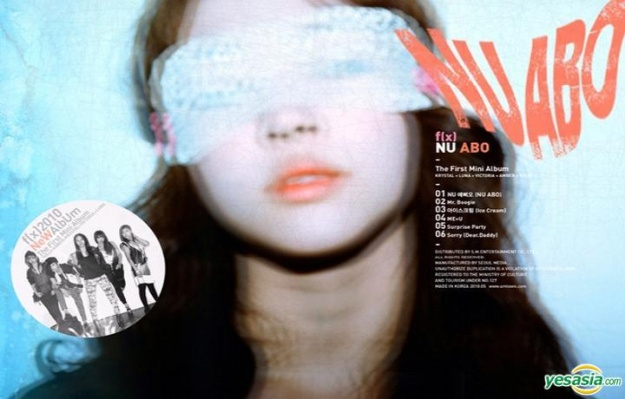 Album Review – f(x) – NU ABO Mini Album
