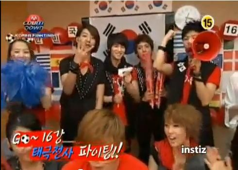 Mnet M!Countdown 06.17.10 Performances