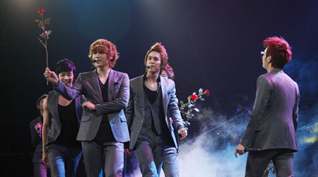 Beast Performs in Manila, Philippines