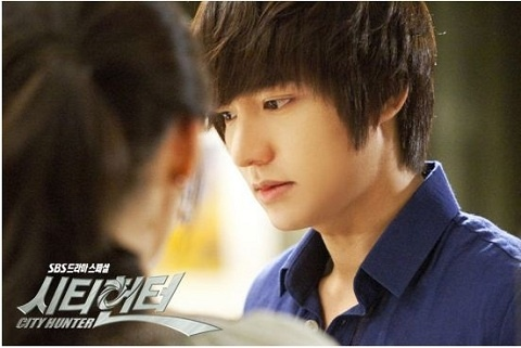 "Lee Min Ho in Car Accident While Filming ""City Hunter"""