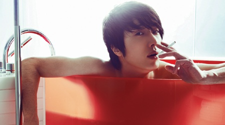 """Jung Il Woo's Homme Fatale Photo Shoot with """"Cosmopolitan"""""""