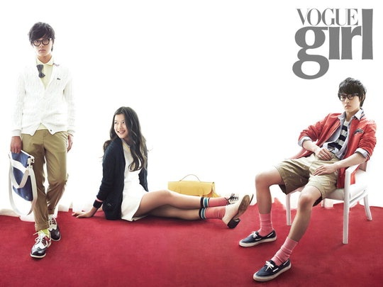 "Childhood Cast of ""Moon that Embraces the Sun"" for Vogue Girl"