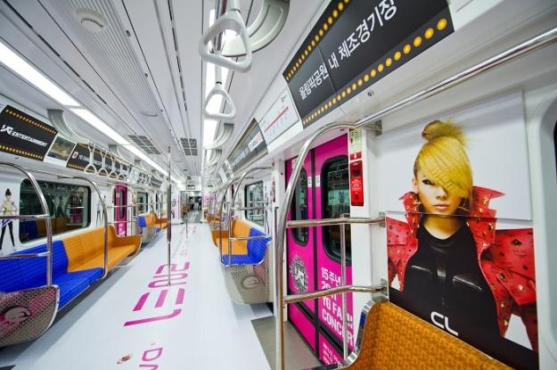 YG Family Runs Specially Designed Train in Seoul