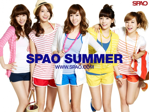 SNSD SPAO Wallpaper Promo Pictures