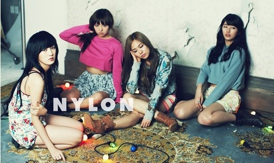 """miss A's Sexy Concept Photoshoot with """"Nylon"""""""