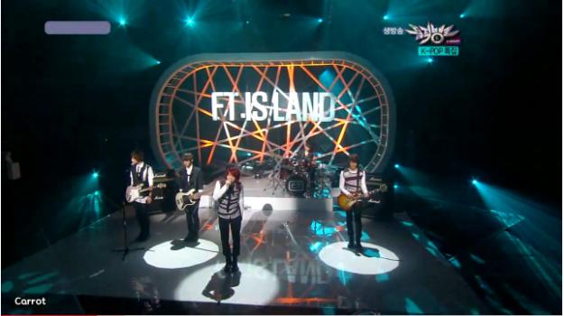 KBS Music Bank 08.27.10 Performances