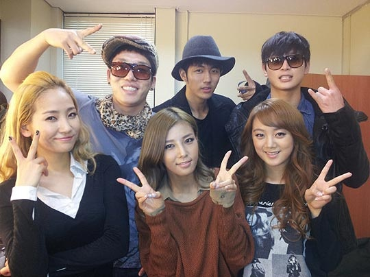 [Tweets] 2AM Joins Wonder Girls, Dara's Busy, Solbi in a Wedding Dress, and More!