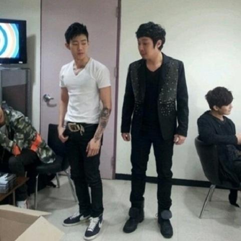Haha and Jay Park Share Awkward Tweets