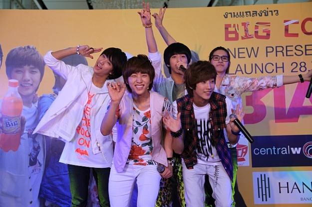 B1A4 Endorses Big Cola in Thailand