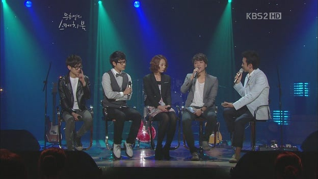 Modern Rock Band Monni Performs on Yoo Hee Yeol's Sketchbook